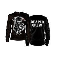 Officially Licensed SOA Reaper Crew Long Sleeve Long Sleeve T-Shirt S-XXL Sizes