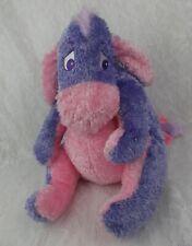 Disney Store SUGAR SWEET Eeyore Donkey Purple Pink Shimmer Pooh Plush Stuffed