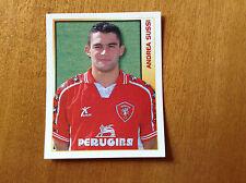 CALCIO MERLIN 2000 n 264 PERUGIA SUSSI Figurina Sticker Calciatori NEW