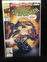 Web Of Spider-Man #96 (First Printing) 1993 Venom And Ghost Rider App
