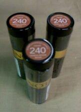 3 - Brand New Revlon Super Lustrous Lipstick 240 Sandalwood Beige