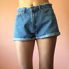 Nasty Gal High Waist Denim Short Shorts