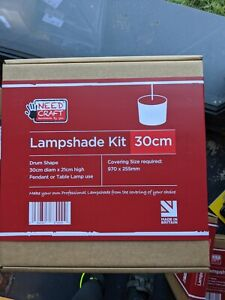 30cm drum shape lampshade kit