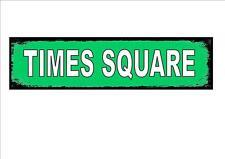 Times Square New York City USA STREET metallo segno