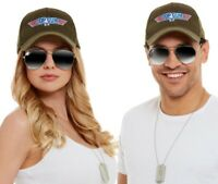Mens Ladies Unisex Officially Licensed Top Gun Fancy Dress Kit by Smiffys