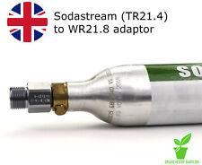 More details for sodastream adapter converter | aquarium & homebrew | tr21-4 to w21.8-14