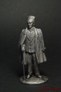 Tin soldier figure Ataturk, Mustafa Kemal 54 mm