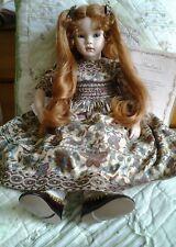 Pauline bjonness jacobsen Porcelain Doll Matilda 21in