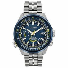 CITIZEN ECO-DRIVE MEN'S WATCH BLUE ANGELS WORLD AT ALL TITANIUM CB0147-59L NEW
