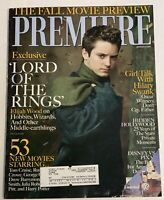 Premiere Magazine Sept. 2001 LORD OF THE RINGS**ELIJAH WOOD Cover**Hilary Swank