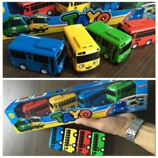 4 pcs Cars Toy The Little Bus TAYO Friends Special Set Tayo Rogi Gani Rani Mini
