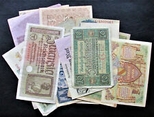 Set of 16 Germany Old Paper Money