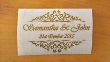 Personalizzato DIY wedding guest book Photo Album Vinile Decalcomania Adesivo A3