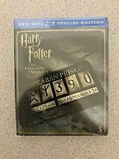 Harry Potter and the Prisoner of Azkaban (Blu-ray Disc, 2016, 2-Disc Set)
