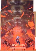 Kevin Tong Ant-Man Screen Print Poster Mondo Avengers Marvel Comics #d/350 2015