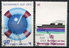 United Nations Vienna 1983 SG#V30-1 Safety At Sea Cto Used Set #A91992