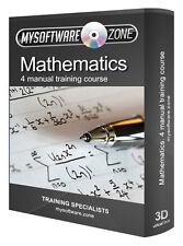 Learn Mathematics 4 Manual Training Course CD Basic Algebra Statistics Calculus