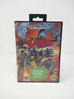 X-Men Sega Genesis tested with case no manual manual