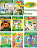 Crayola A4 Colouring Sticker and Books for kids Learning Activity - FREEDELIVERY