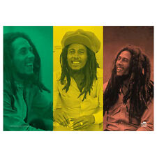 "BOB MARLEY Rasta Collage Tapestry Cloth Poster Flag Wall Banner New 30"" x 40"""
