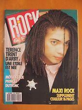 Rock & Folk N° 249 du 02/1988- Terence Trent d'Arby- Poster de Jacques Dutronc