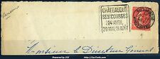 FRANCE SEMEUSE N°199 RARE DAGUIN CHATEAUDUN EURE ET LOIR 11/04/1927 SUR FRAGMENT