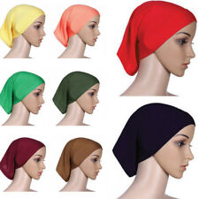 Muslim Inner Hijab Hats Stretchble Ethnic Islamic Underscarf Lady Caps 35*24cm