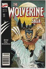 2 The Wolverine Saga Marvel Comic Books Book # 1 2 Rob Liefeld Terry Austin WM6