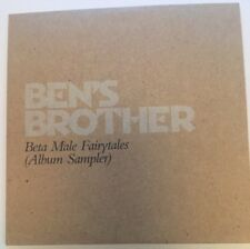 CD Music Ben's Brother Beta Male Fairytales Promo Album Sampler