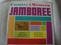 COUNTRY & WESTERN JAMBOREE VINYL LP VARIOUS ARTISTS TOM TALL, WHITEY KNIGHT