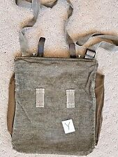 Swiss Military Messenger Bag WWII Type Salt Pepper Surplus Leather Shoulder 1945
