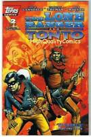 LONE RANGER & TONTO #2, NM+, Tim Truman, Joe Lansdale, 1994, Topps