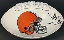 JOHN DORSEY SIGNED AUTOGRAPHED CLEVELAND BROWNS FOOTBALL LOGO JSA !