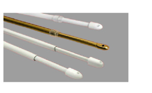 Extendable  Telescopic Net Voile Rod Curtain Rail Pole Net Rods