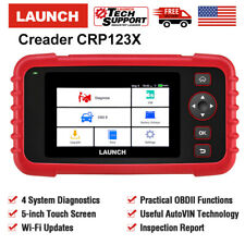 Upgrade! LAUNCH X431 Creader CRP123 Auto Car OBD2 Diagnostic Scanner Code Reader