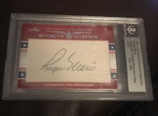 2011 LEAF SPORTS ICONS CUT SIGNATURE ROGER MARIS AUTOGRAPH AUTO 1/3 YANKEES RARE