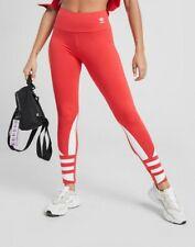 Adidas Originals Large Logo Trefoil High Waisted Leggings. Size 10