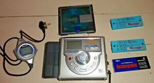 Sharp 721 minidisc player lecteur