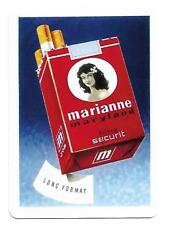 SM143 SINGLE swap playing cards MINT cigarette smoking MARIANNE CIGARETTES