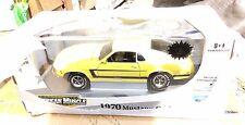 ERTL 1/18 Elite AMERICAN MUSCLE 1970 MUSTANG GRABBER YELLOW 1,250