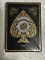 Artisan Playing Cards/Theory 11-Black Edition-New & Sealed! Rare Edition#12-16