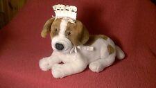 "12"" + tail Applause Disney Peter Pan NEWFOUNDLAND NANA DOG plush stuffed"
