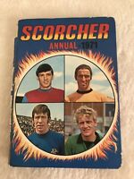 Scorcher Annual 1971 Hardback Book The Cheap Fast Free Post