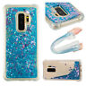 Bling Dynamic Liquid Quicksand Shockproof Soft TPU Case Cover For Samsung Galaxy