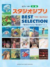"Studio Ghibli Best Selection for Piano Solo Sheet Music / ""Nausicaa"" to ""Marnie"""