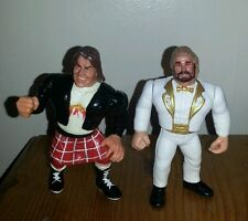 Million dollar man & Roddy Piper WWF WWE Hasbro custom Wrestling Figure jakks