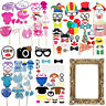 Party Props Photo Booth Frame Selfie Fun Birthday Baby Shower Decor Supplies
