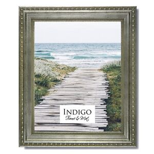 Set of 12 - 4x6 Ornate Silver Picture Frame, Glass & Backing