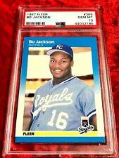 1987 FLEER #369 BO JACKSON PSA 10