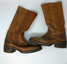 old black label Frye Usa 1970s Distressed destroyed patina vt 00006000 g campus boots anti